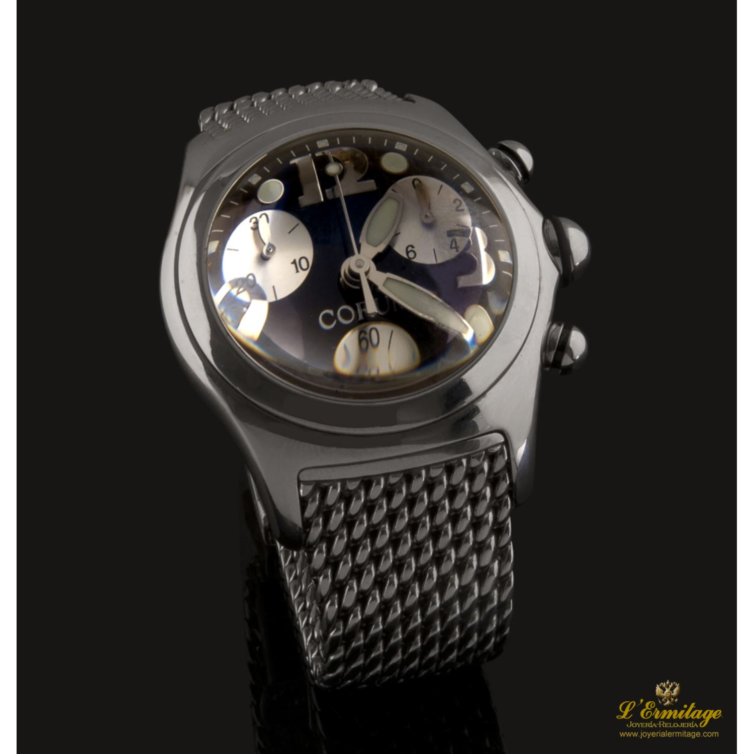 BUBBLE CHRONO ACERO