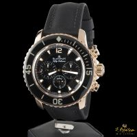 BLANCPAIN<BR>FIFTY FATHOMS CHRONOGRAPH FLYBACK ORO ... · ref.: 5085F-3630-52