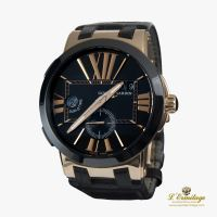 ULYSSE NARDIN<BR>EXECUTIVE DUAL TIME ORO AMARILLO CABAL... · ref.: 246-00/42