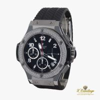 HUBLOT<BR>BIG BANG ACERO Y DIAMANTES