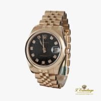 ROLEX<BR>OYSTER PERPETUAL DATEJUST ORO ROSA 31M... · ref.: 178245