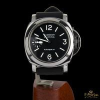 PANERAI<BR>LUMINOR MARINA ACERO CUERDA MANUAL.
