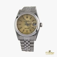 ROLEX<BR>DATE JUST 31MM ACERO JUBILLE.