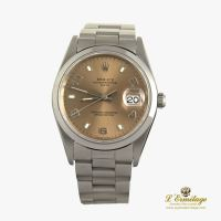 ROLEX<BR>OYSTER PERPETUAL DATE ACERO 34MM.
