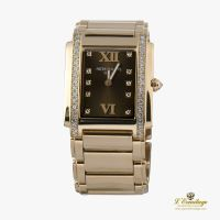 PATEK PHILIPPE<BR>TWENTY-4 QUARZ MEDIUM ORO ROSA