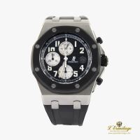 AUDEMARS PIGUET<BR>ROYAL OAK OFFSHORE CHRONOGRAPH ACERO Y...
