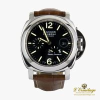 PANERAI<BR>LUMINOR ACERO RESERVA DE MARCHA 44MM