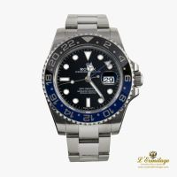 ROLEX<BR>GMT-MASTER II ACERO OYSTER