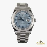 ROLEX<BR>DAY-DATE II PLATINO CABALLERO 41MM